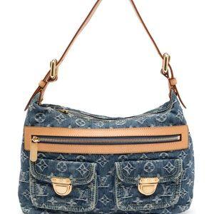 Louis Vuitton Denim Shoulder Bag